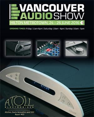 Atoll Electronique Vancouver Audio Show 2016 299b493677